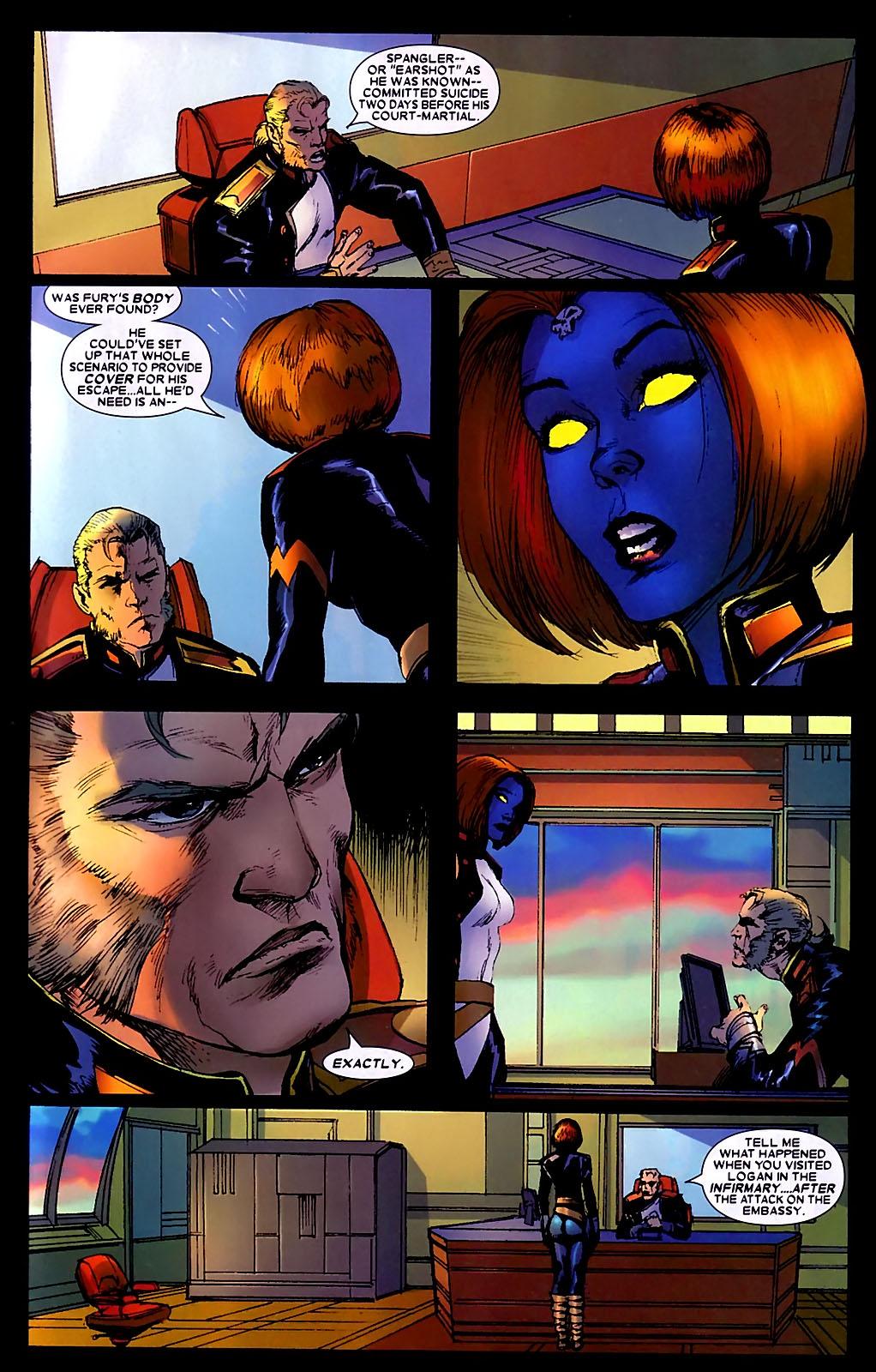 Read online Wolverine (2003) comic -  Issue #34 - 20