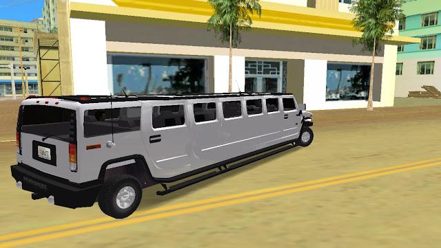 AMG Hummer H2 Limousine - GTA Vice City