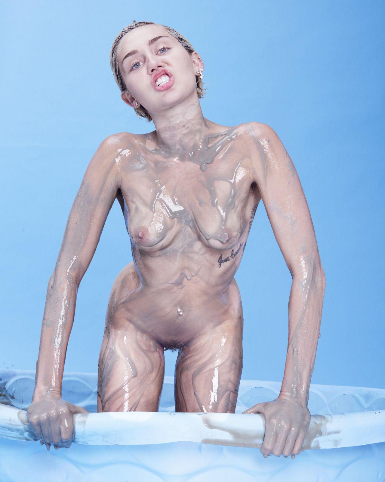 miley posa completamente desnuda sin censura! - EL