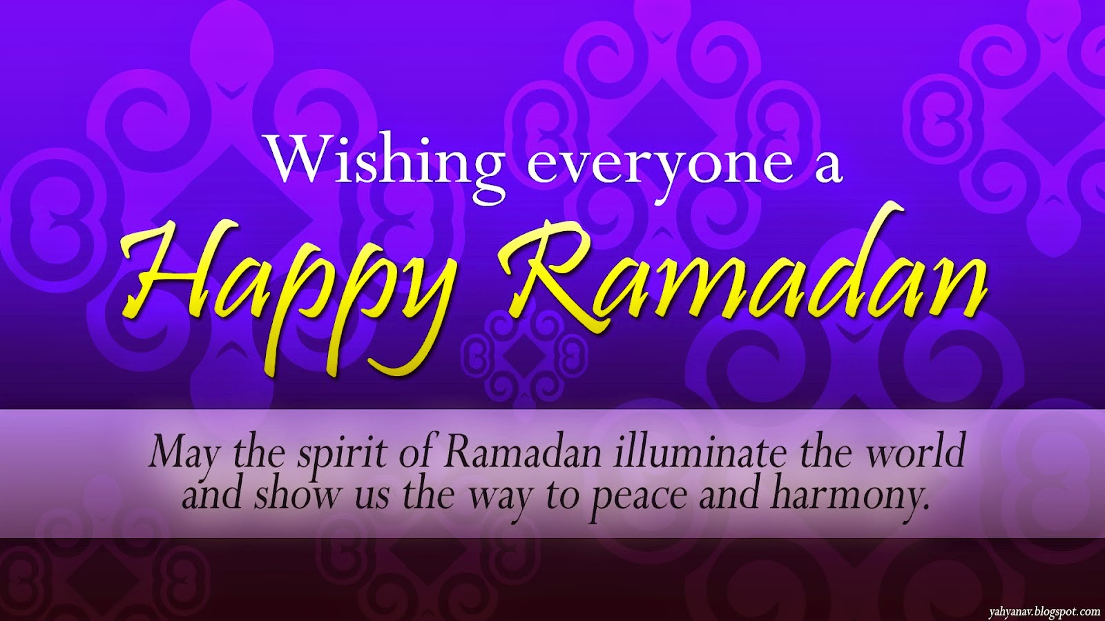 Happy Ramadan Greetings Messages Wallpapers 1024x768 Hd