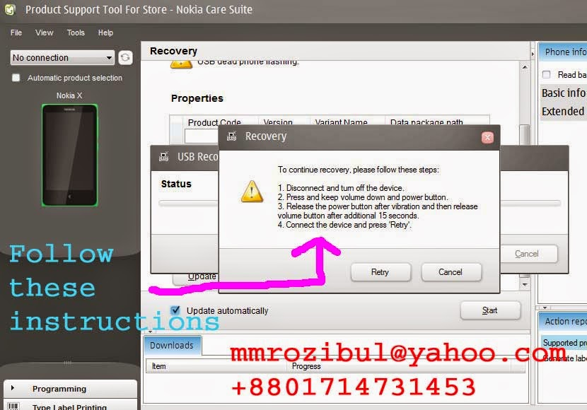 How To Flash Nokia X Android RM-980 7