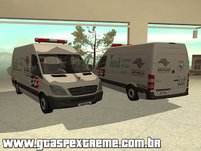 MB Sprinter IML de SP para GTA San Andreas