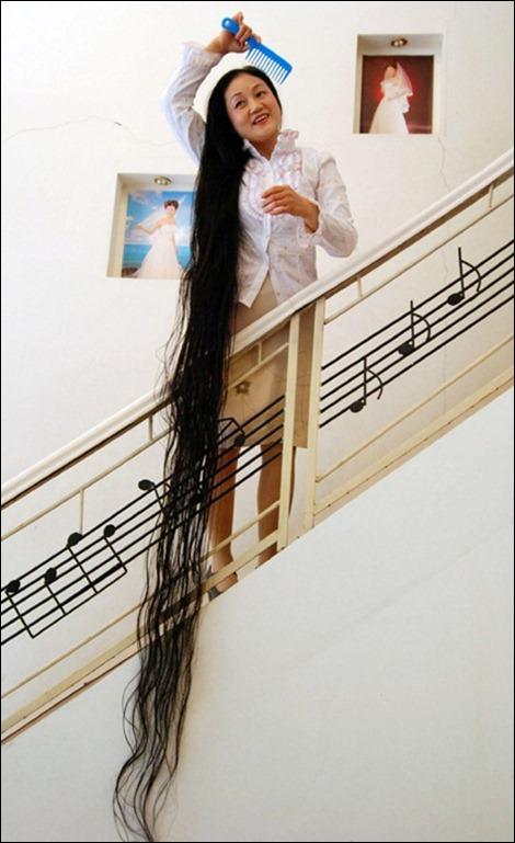 cabelo feminino mais longo do mundo, xie qiuping, china, eu adoro morar na internet