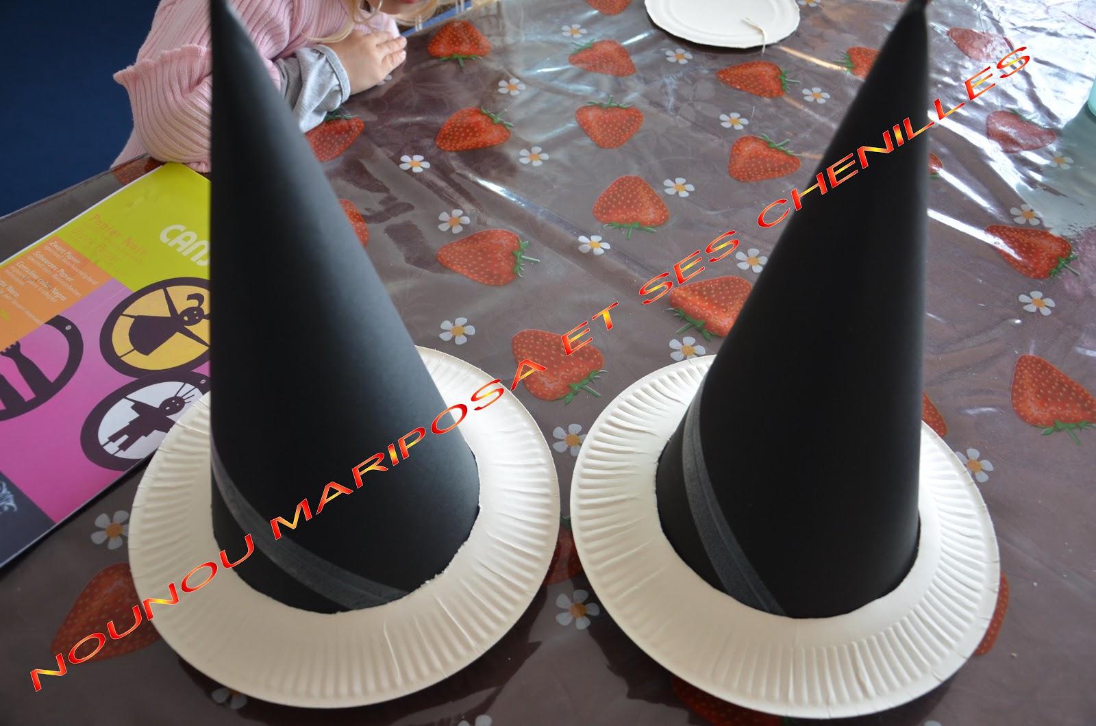 Préférence Nounou Mariposa et ses chenilles: Les chapeaux de sorcière ou  MN41