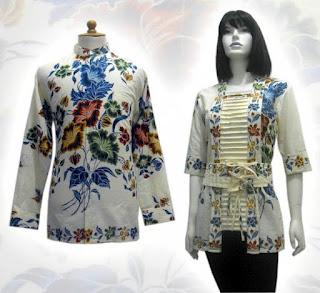 seragam batik modern