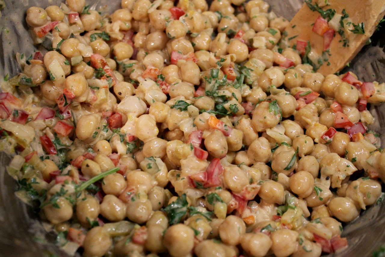 "Chickpea ""Potato"" Salad"