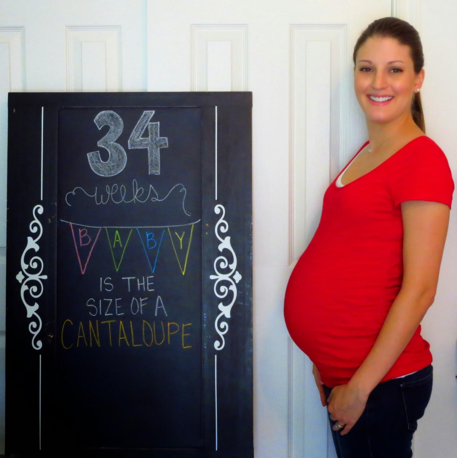 34 weeks bumpdate