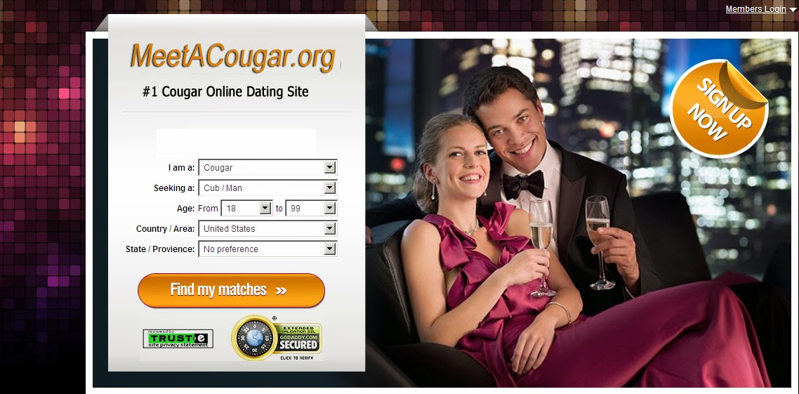 Online dating site for cougars
