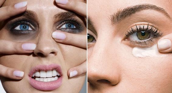 Como tirar a fadiga de círculos de olhos em volta