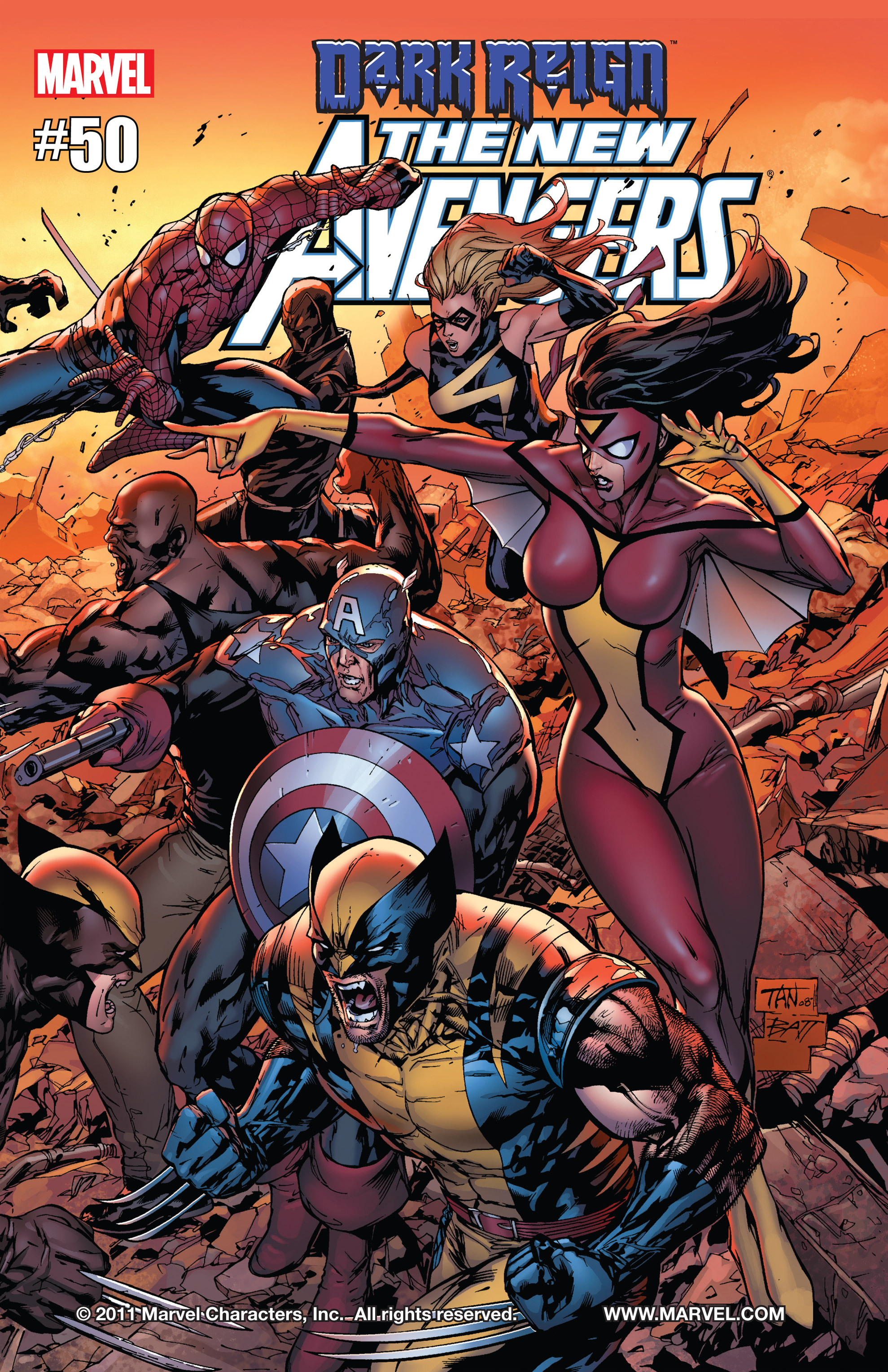 New Avengers (2005) issue 50 - Page 1