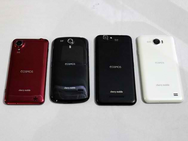 Cherry Mobile Cosmos X, X2, S, and Z