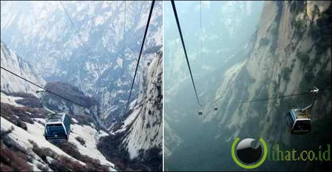 Mount Hua's Cable Car (China)