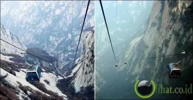 Mount Hua's Cable Car (China)