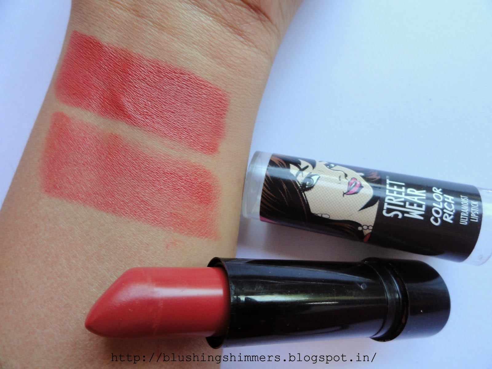 Street wear color rich ultra moist lipstick-Berry Dreamy review,swatches