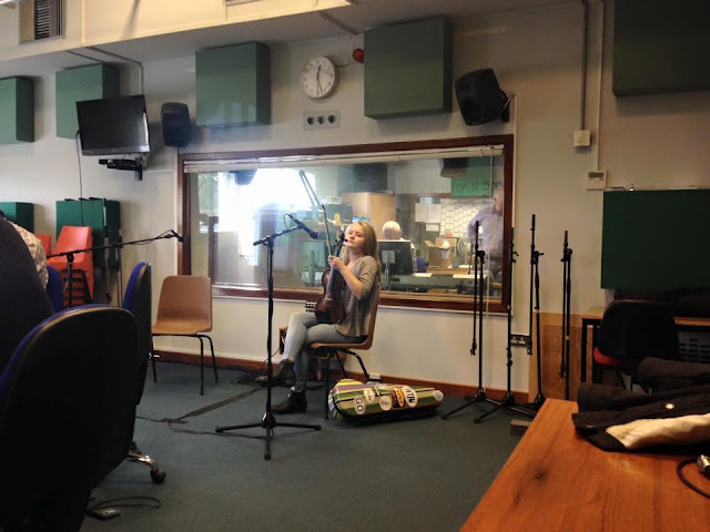 Haley Richardson RTE Radio, Donegal Ireland