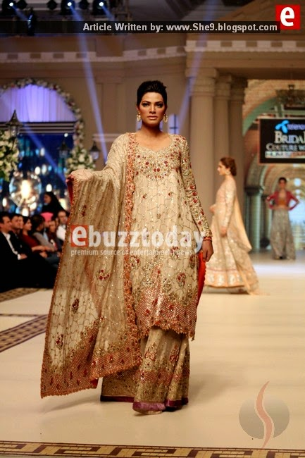 Tena Durrani Bridal Collection at Bridal Couture Week 2014