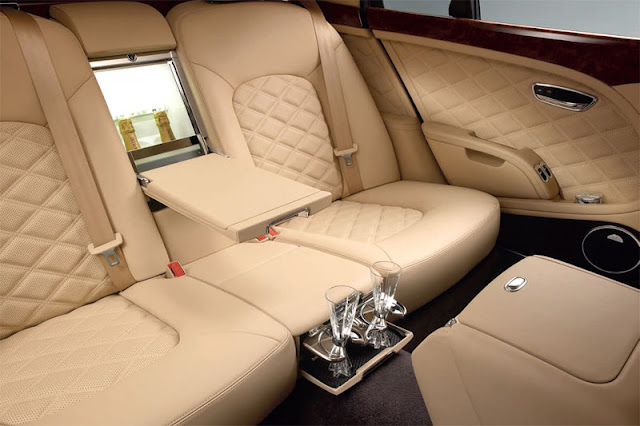 2013 Bentley Mulsanne Back Interior