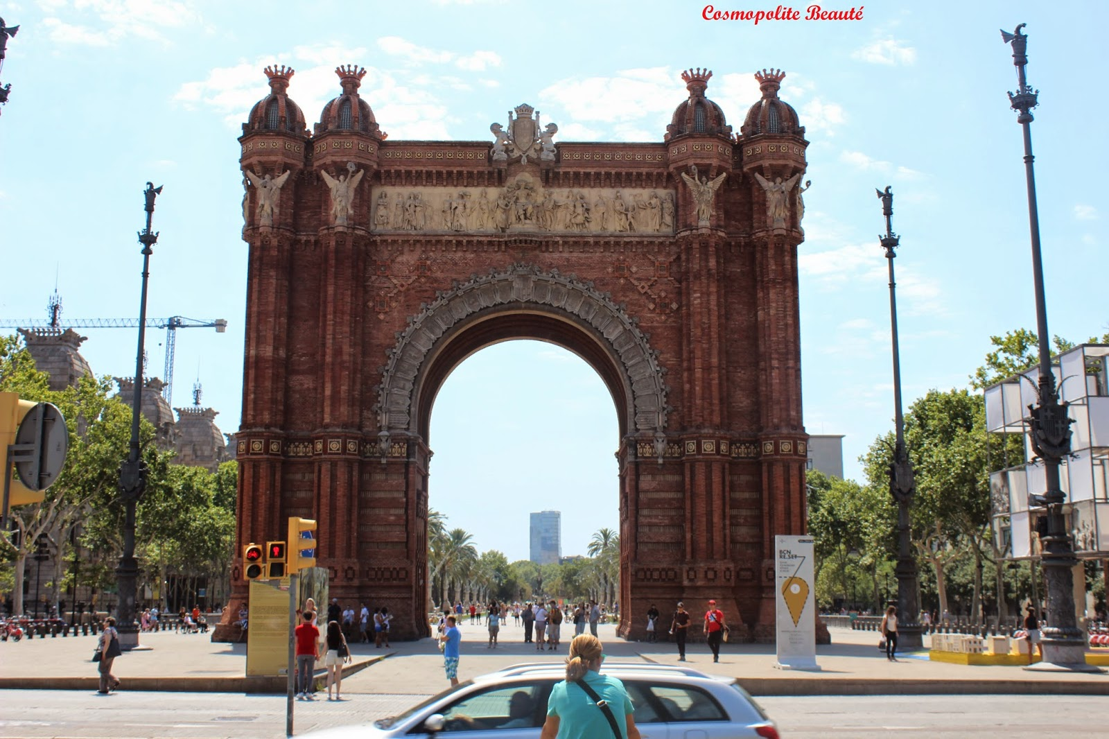 Arc de Triomphe, Barcelone, Espagne, voyage, carnet de voyage, Barcelona, beauté, mode, boutiques