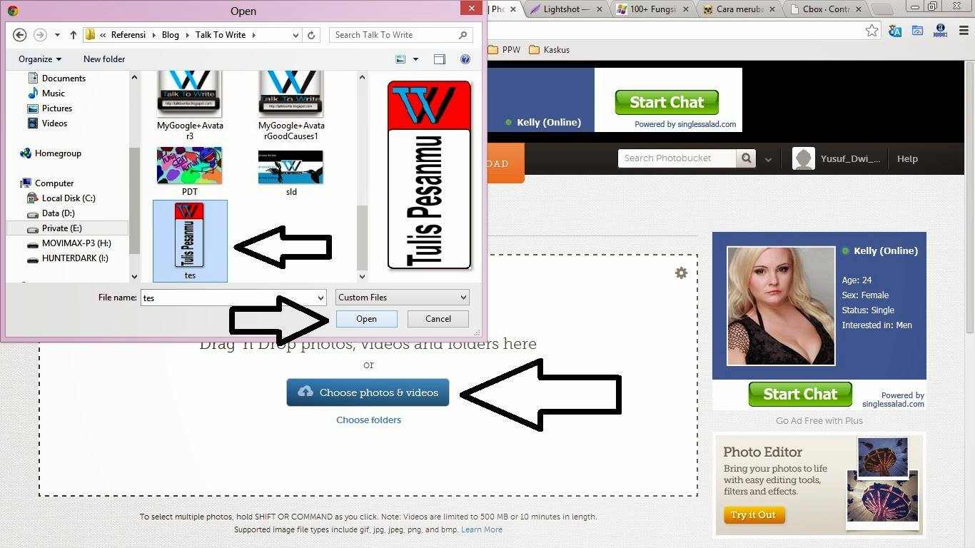 Membuat Guide Sendiri Untuk Chat Box Blogspot