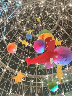 Wheelock Place Christmas Decoration at Orchard Road
