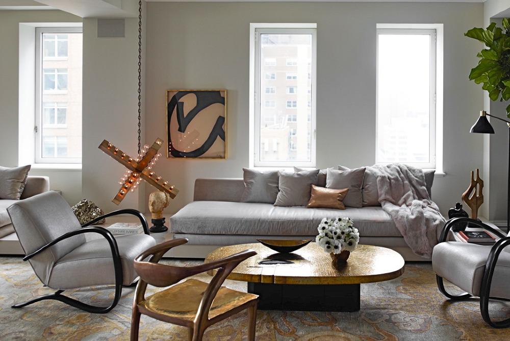 Loveisspeed park avenue penthouse by kelly behun for Kelly behun studio