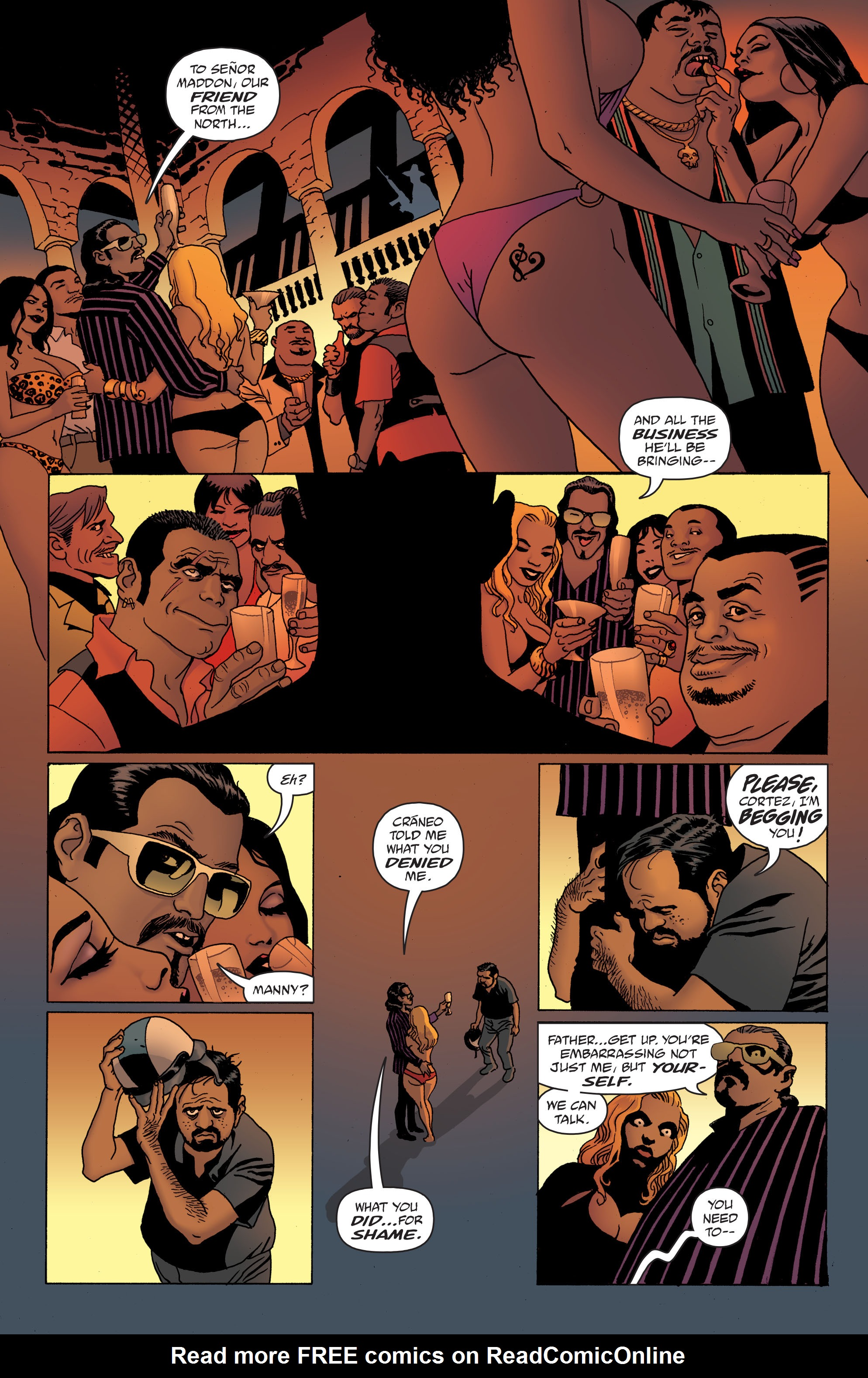 100 Bullets: Brother Lono Full Page 148