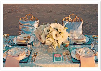 Home Decor Idea: Chic + Glamorous Table Setting Ideas