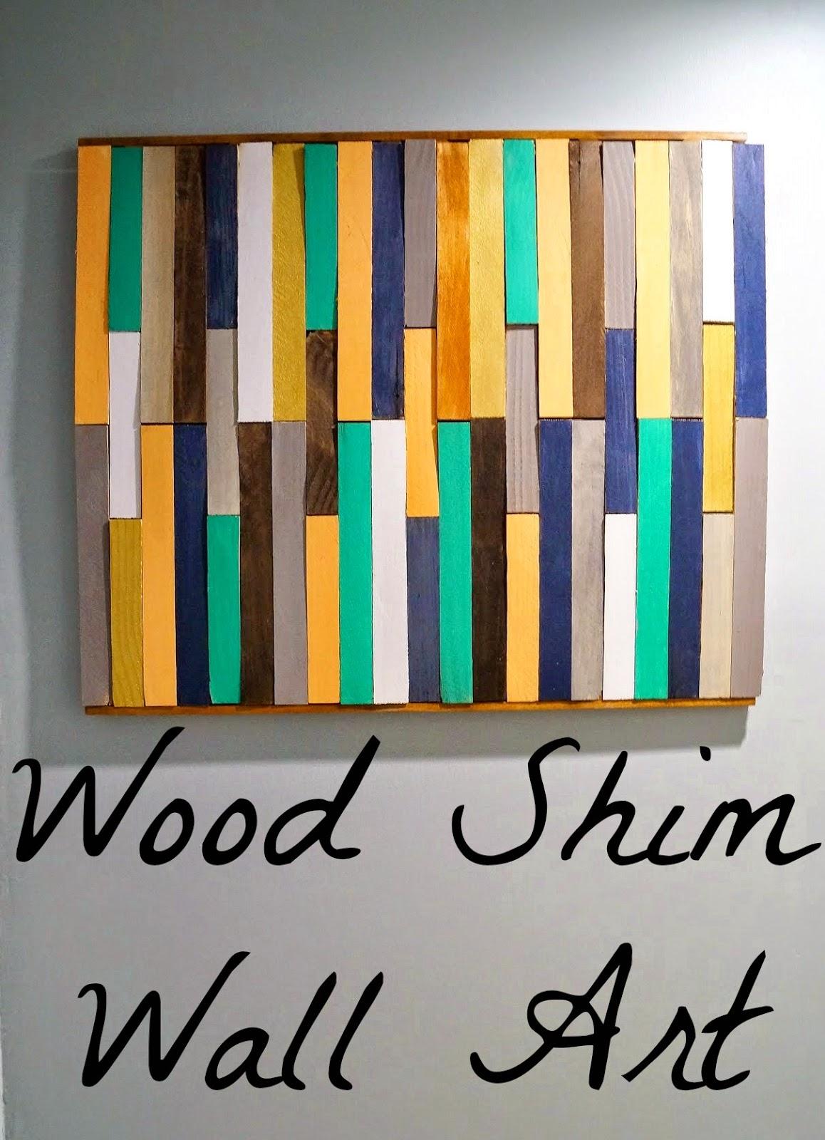 Wood Shim Wall Art