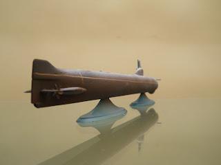 modelismo naval de submarino atómico soviético k-3