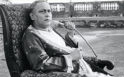 Bangla filmmaker Chhabi Biswas as Huzur Biswambhar Roy in Jalsaghar aka The Music Room (1958), Directed by Satyajit Ray