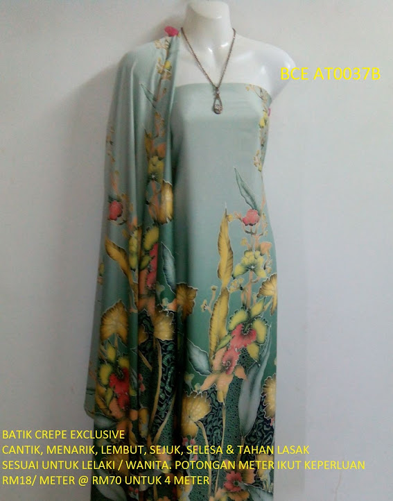 BCE AT0037B: BATIK CREPE EXCLUSIVE