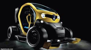 Hebat nih, Mobil Listrik Canggih dan Imut jadi Mobil Balap F1