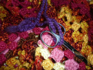 Crocheted Blanket by Lucy Toner