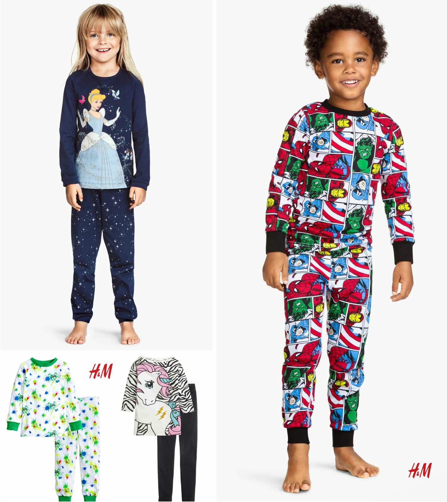 Pijamas Niños HM