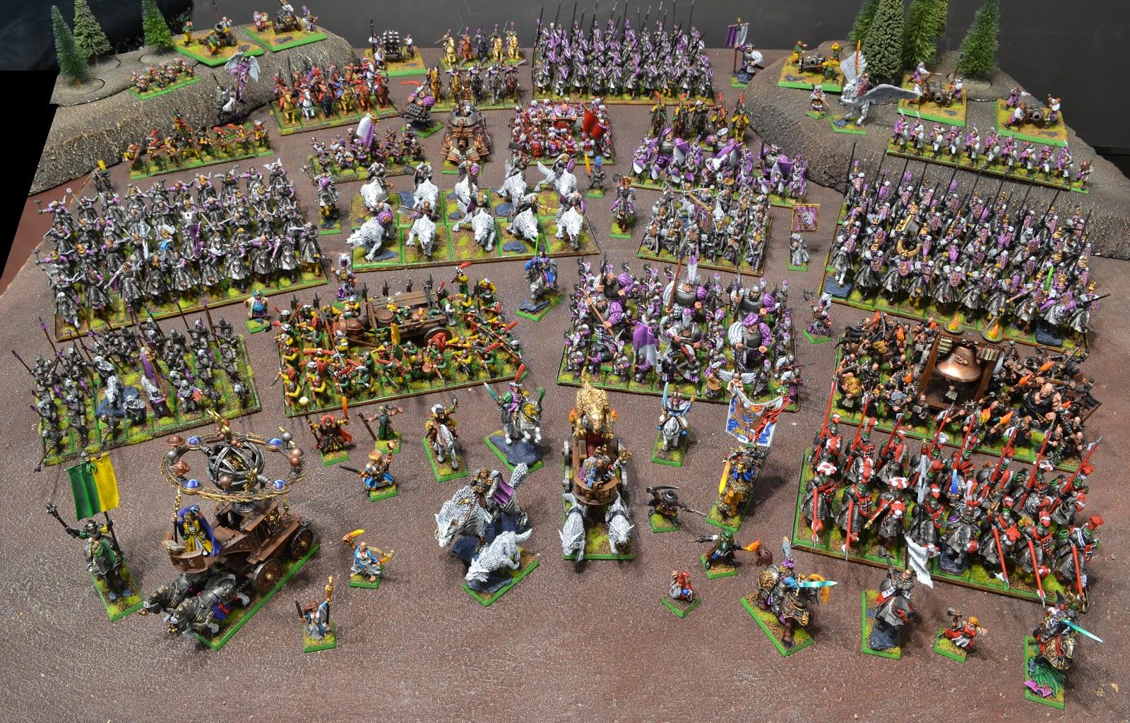 miniaturas cheveremente pintadas 3 - Página 8 Massive+Warhammer+Empire+Army