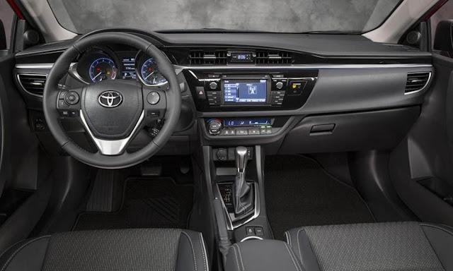 Novo Corolla 2014 - interior - painel