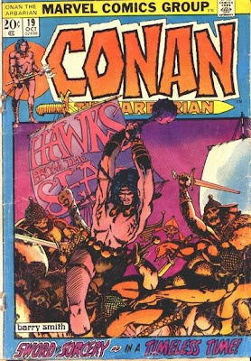 Conan the Barbarian #19, Barry Smith