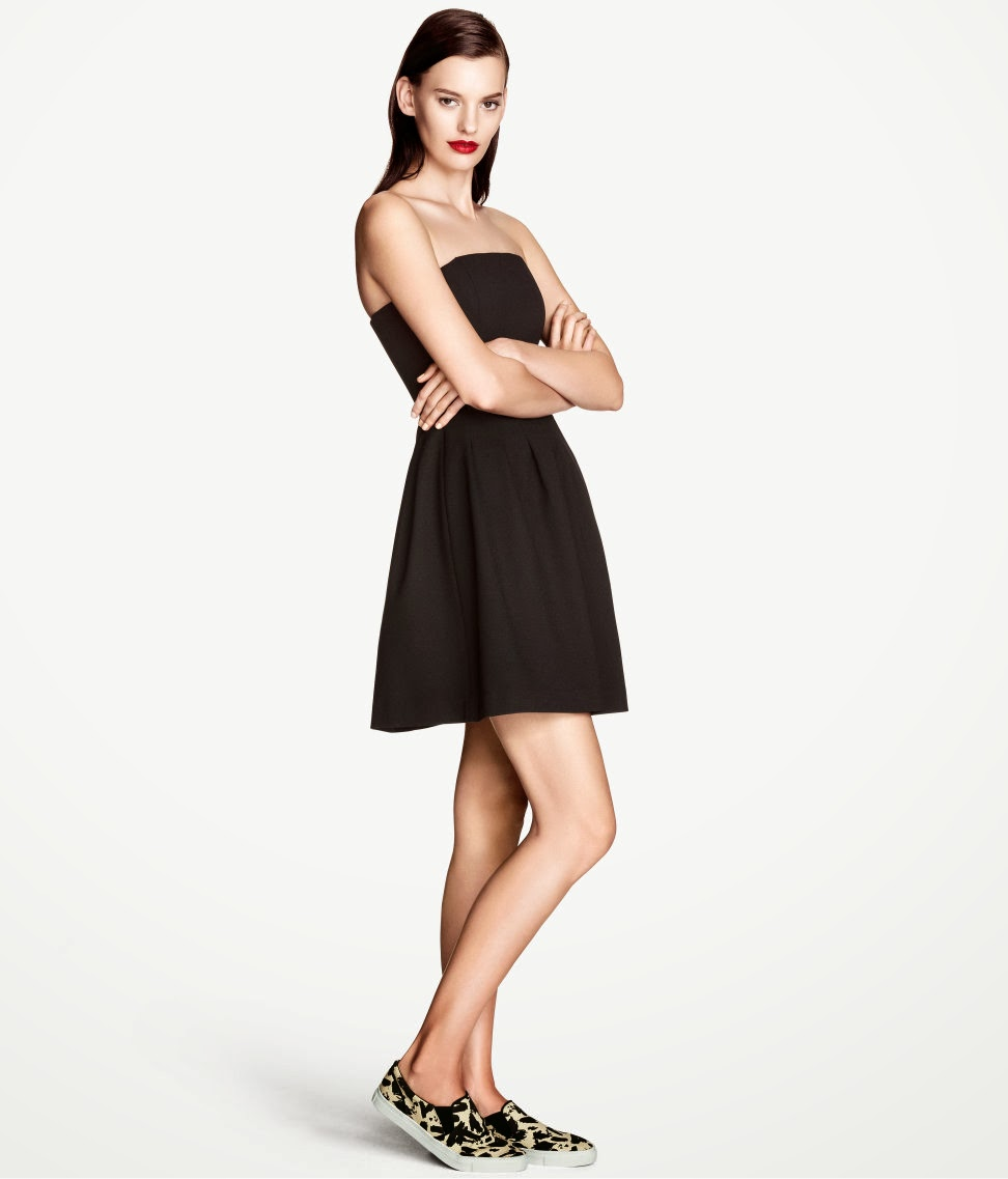 geni%C5%9F+etekli H & M 2014 Sommer Kleidung Models