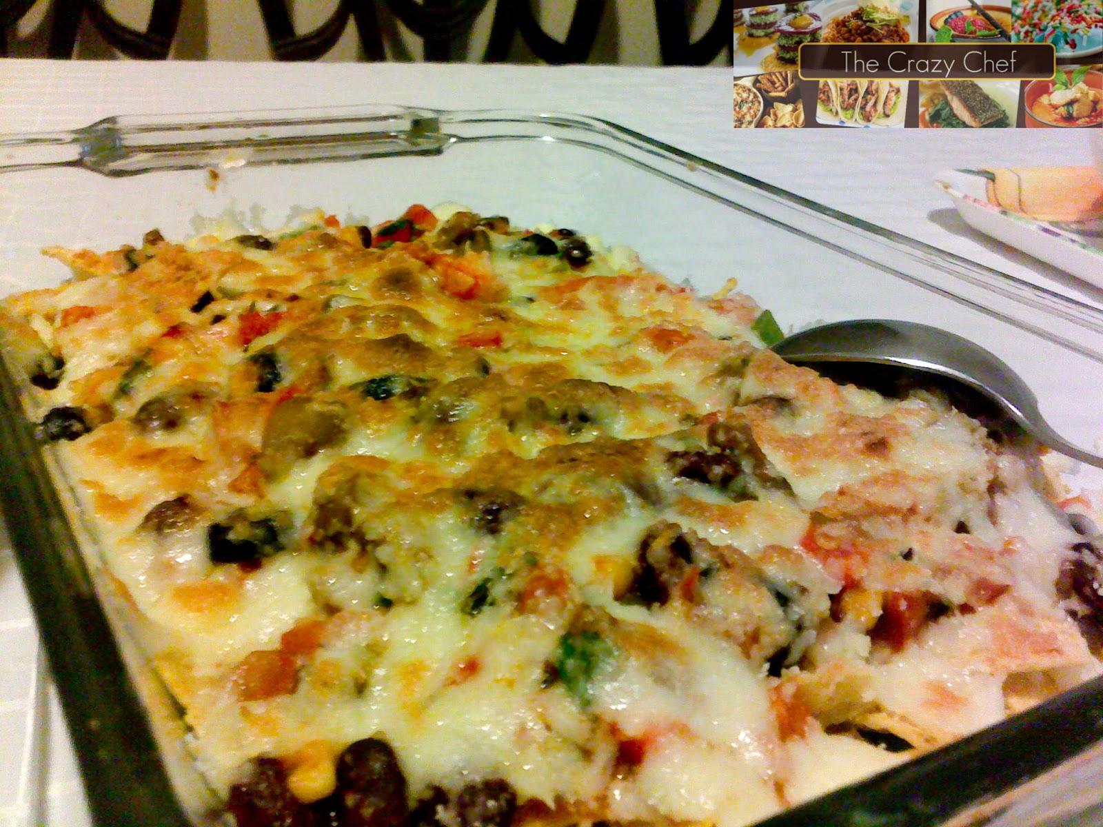 The Crazy Chef:... Nacho Salat