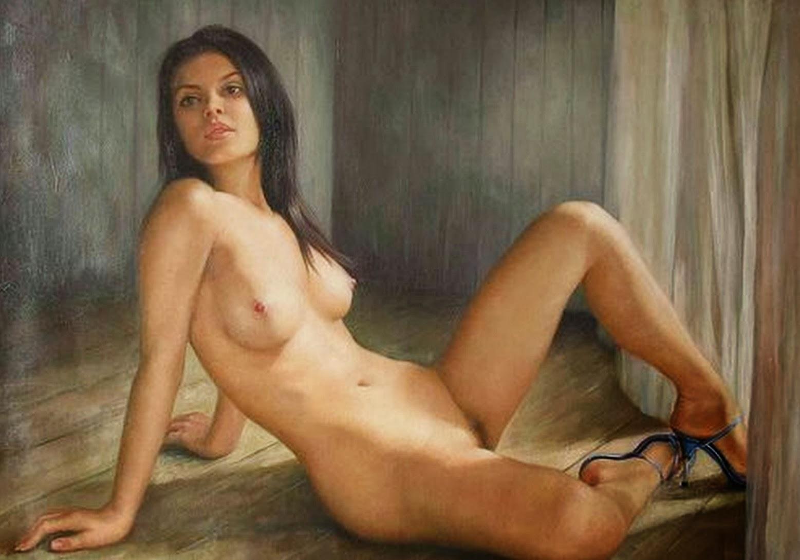 La Pintora Del Desnudo Art Stico Kiera Malone Artista De Francia