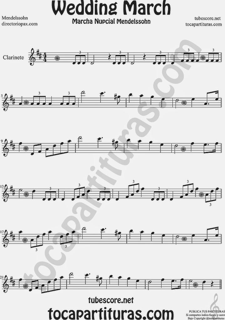 Diegosax marcha nupcial de felix mendelssohn partitura de Notas de espectaculos mas recientes