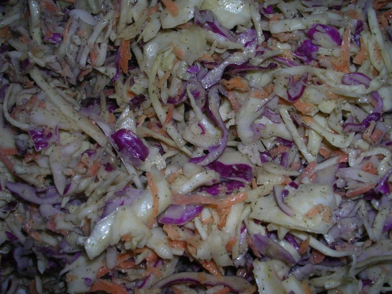 Rocket and Roses Vegan Kitchen: Caper & Dill Coleslaw and Deli ...