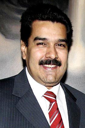 Nicolás Maduro con linda sonrisa