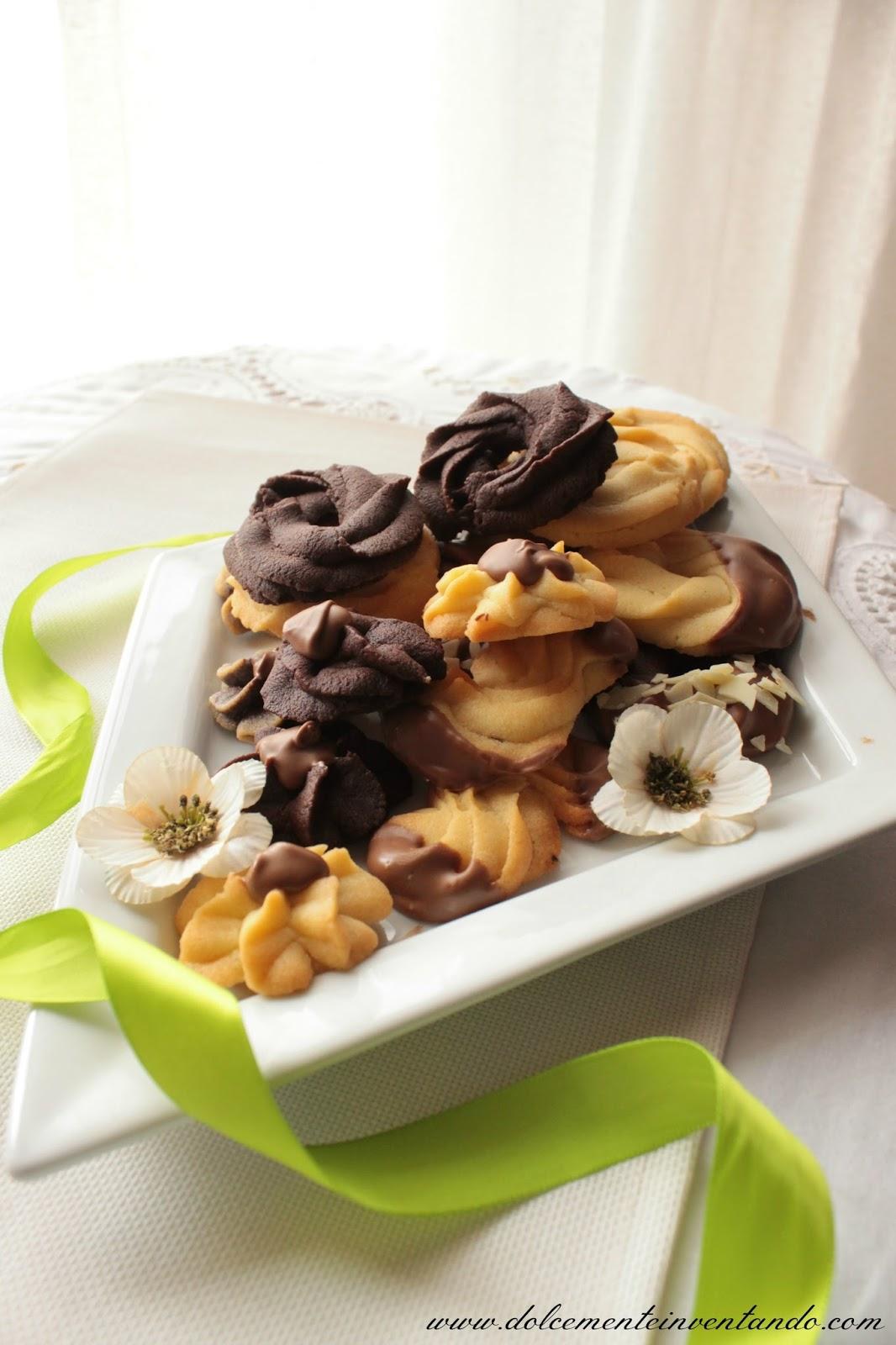 Wiener spritzgebäck (o sablés viennois)...i biscotti che fanno felici tutti!