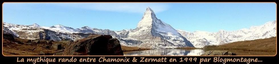 ➽ Chamonix-Zermatt, trek réalisé en 1999 par Blogmontagne ~