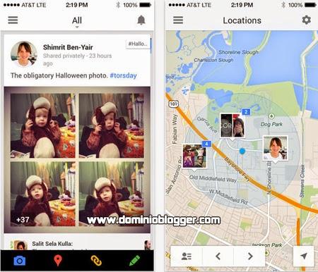 Chatea y comparte con tus amigos de Google Plus desde tu iPhone