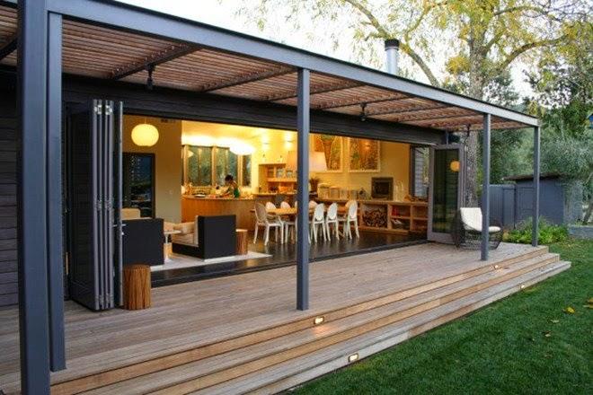 Desain Teras Modern Untuk Ruamah Minimalis