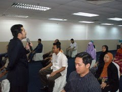 KURSUS ASAS &amp; APLIKASI HYPNOSIS (19-2-2011)