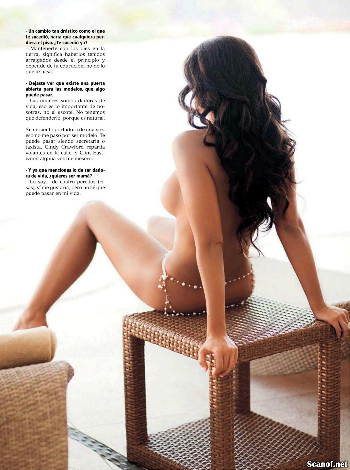 Julia Orayen Playboy Venezuela July Fotos De