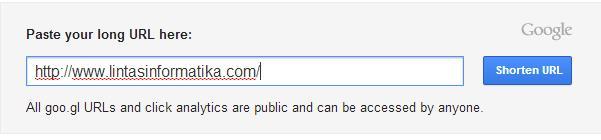 Cara Memperpendek Link URL